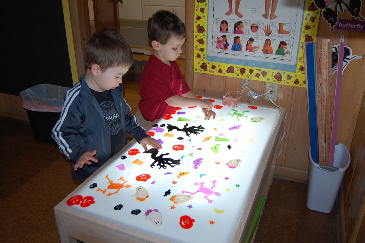 Fabulous Our New Light Table Little Pandas Playschool Download Free Architecture Designs Salvmadebymaigaardcom