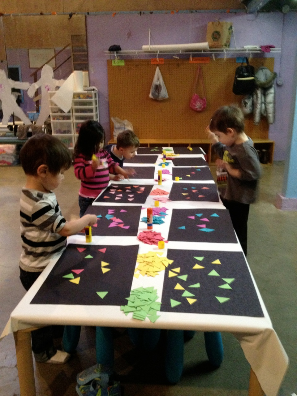 Mosaic Art At Preschool Little Pandas Playschool