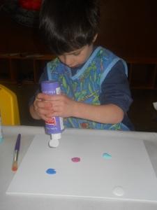 Paint dots Marcus